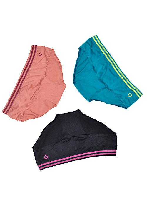 C9 Multi Color 3 Panties Pack P1128