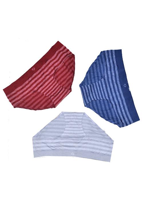 C9 Multi Color 3 Panties Pack P1129
