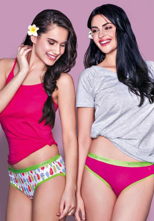 Enamor Multi Color Panties Pack of 2