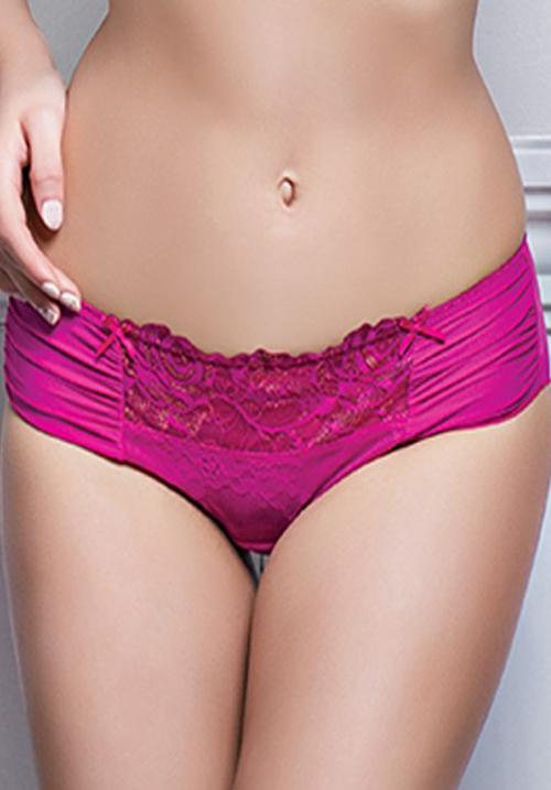 Enamor P022  Poppy Red Mid-Waist Panty