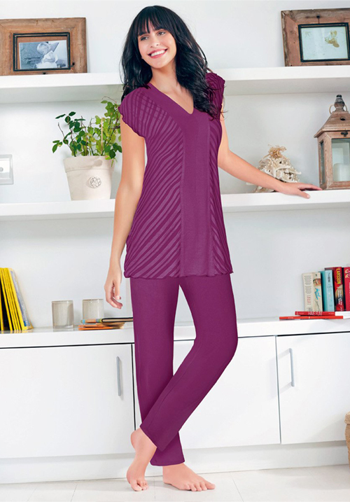 Enamor Nightwear TP40 Top & Pyjama