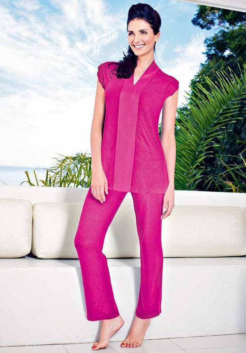 Enamor Nightwear TP54 Top & Pyjama