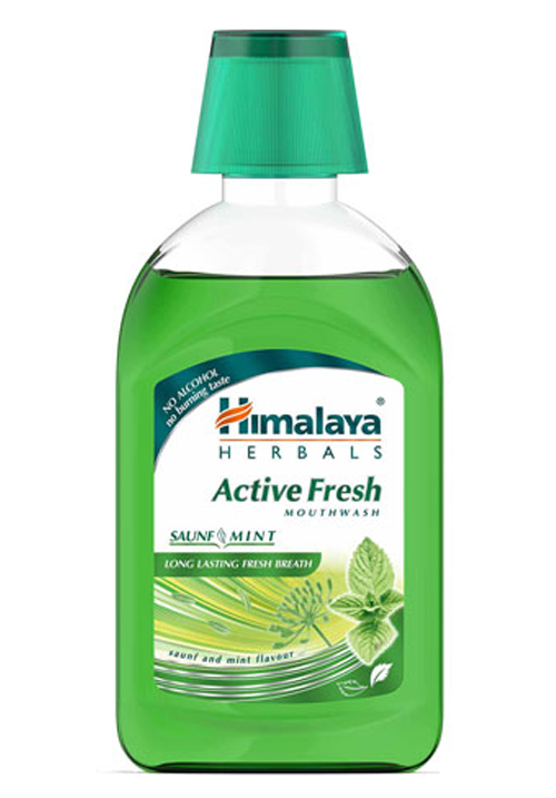 Himalaya Active Fresh Mouthwash 215ml