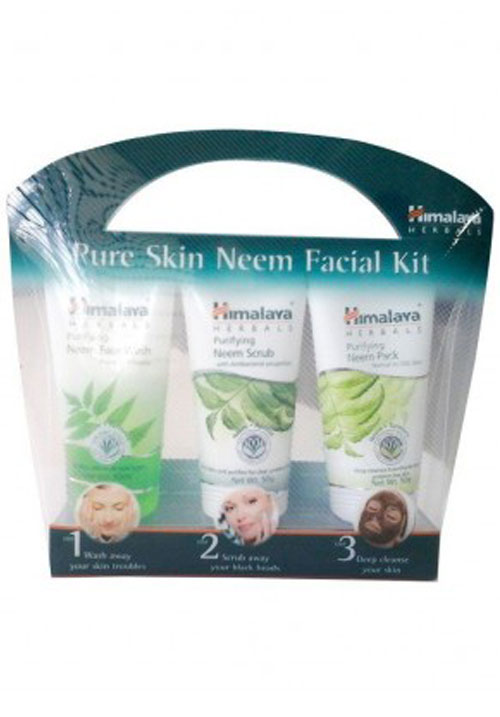 Himalya pure skin neem facial kit