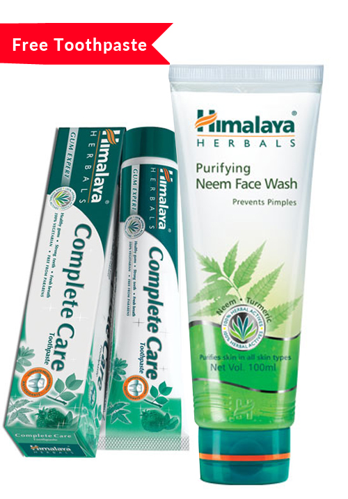 Himalaya Neem Facewash Value Pack 100ML