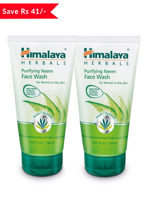 Himalaya Neem Facewash Value Pack