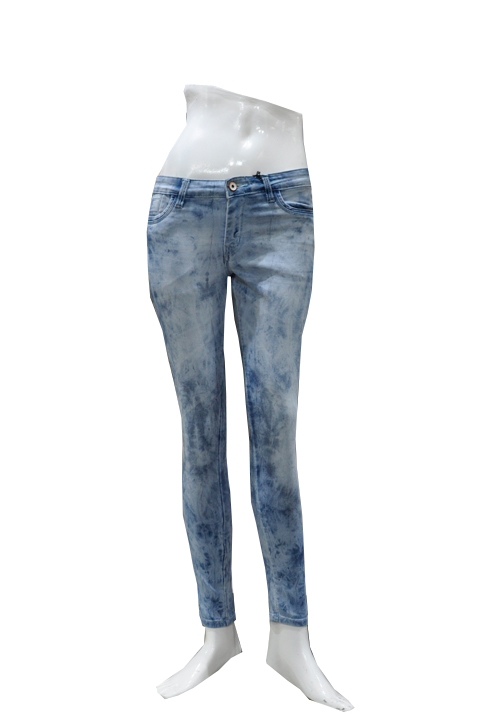 Channel F Ankle Jeans 5060 Ice Blue