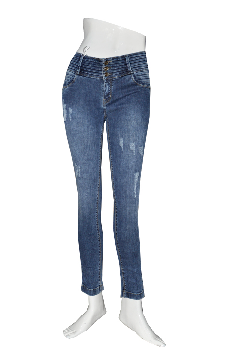 Zola Jeans 598308 Blue Ankle Length