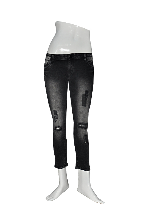 Channel F Ankle Jeans 6015 BLK