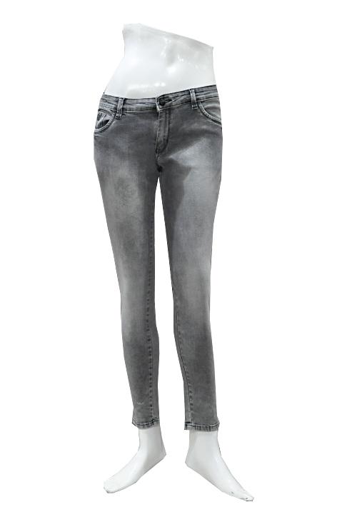 Channel F Ankle Jeans 6052 Ash Black