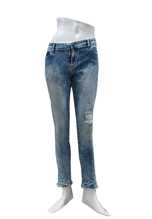 Channel F Ankle Jeans 7004 Stone