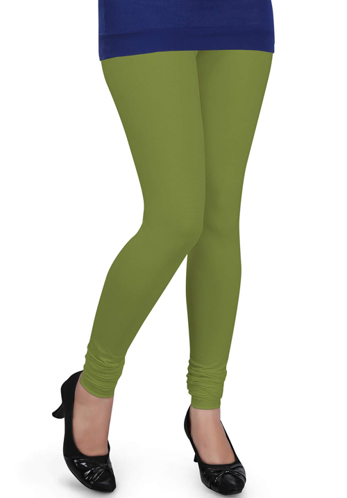 Femigo Women Chatni Green Legging