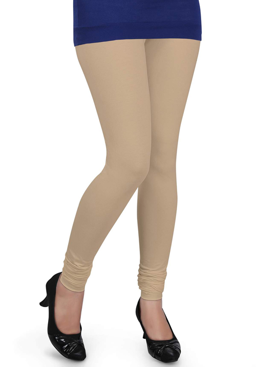 Femigo Women Churidar Beige Legging