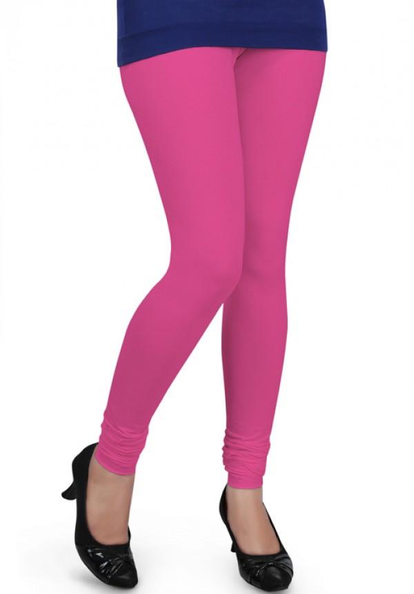 fb841167ed803 Femigo Women Churidar Bubblegum-Pink Legging