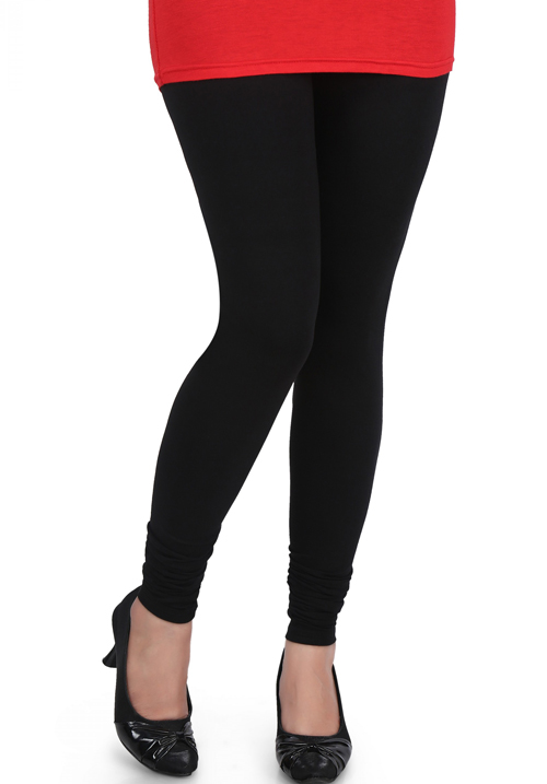 Femigo Women Churidar Black Legging