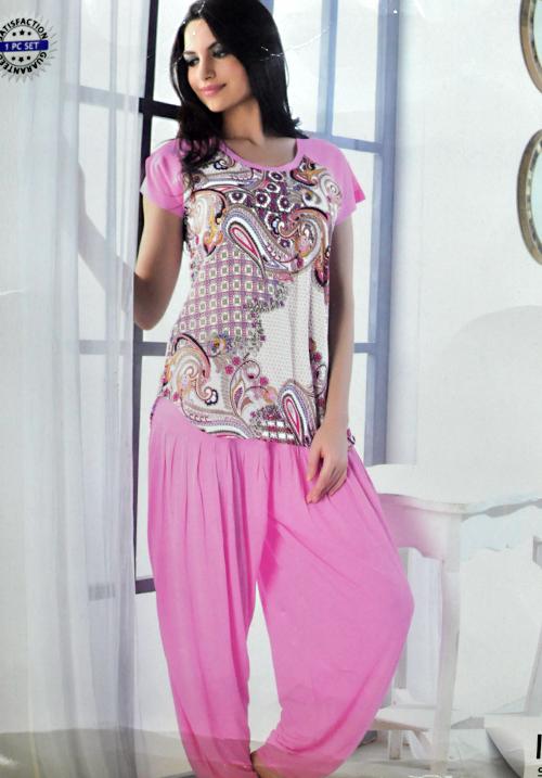 Valentine Salwar Night Suit 13092