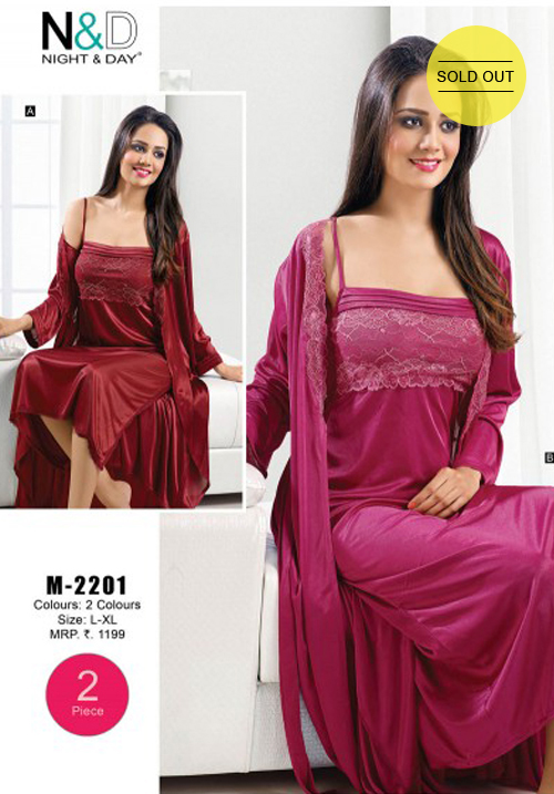 Valentine Bridal Red Nighty
