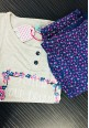 July Pyjama Night Set PC- 185