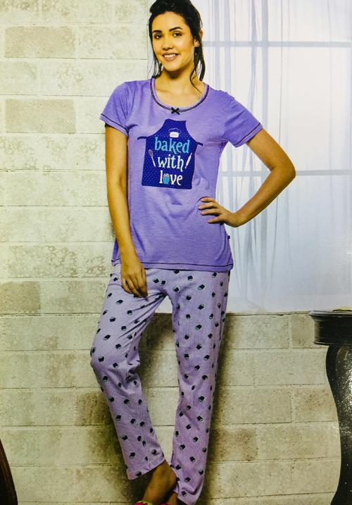 July Pyjama Night Set PC-186