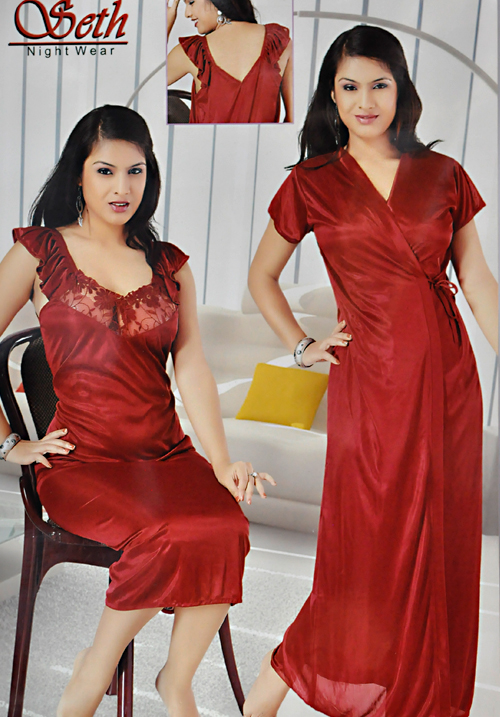 Essentials 2 PC Nightsuit Set 1210