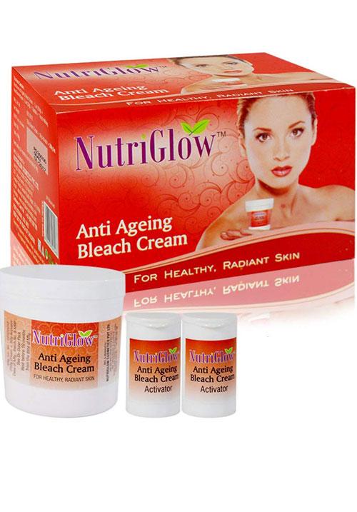 Nutriglow Anti Ageing Bleach Cream