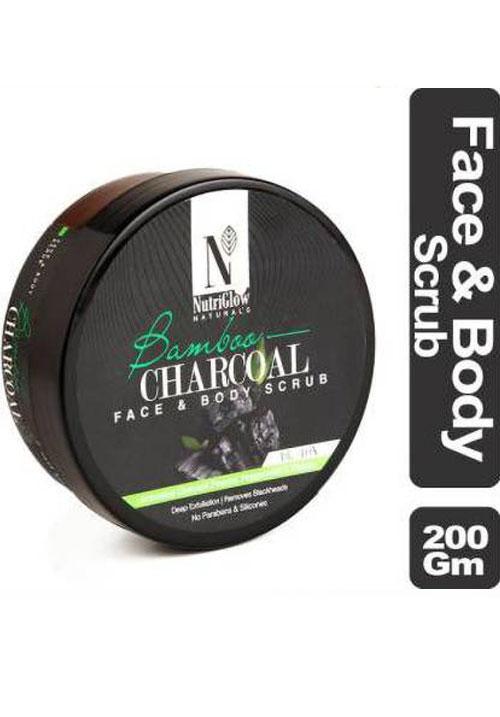 Nutriglow Charcoal Scrub