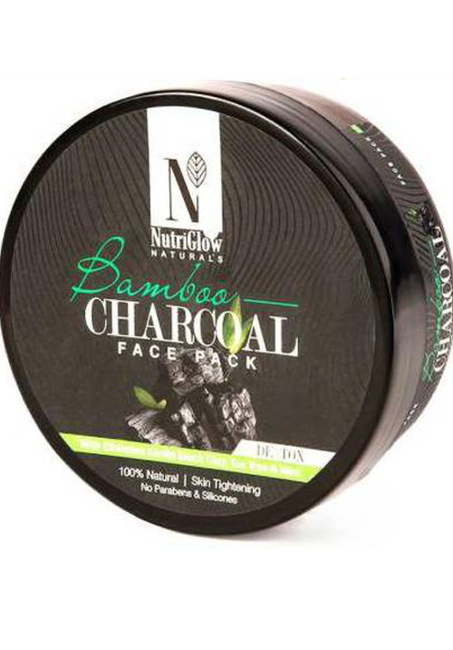 NutriGlow CHARCOAL FACE PACK
