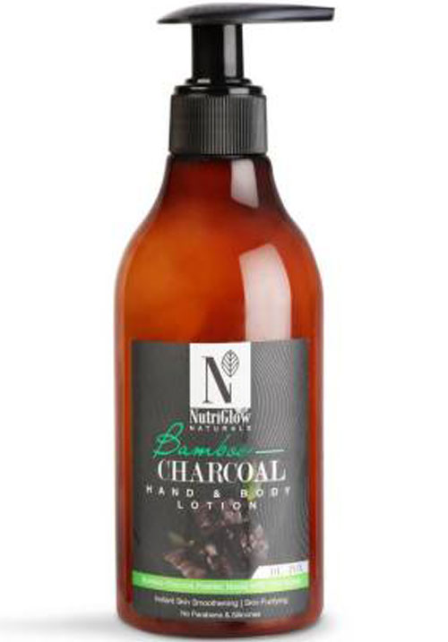 NutriGlow Charcoal Hand and Body Lotion