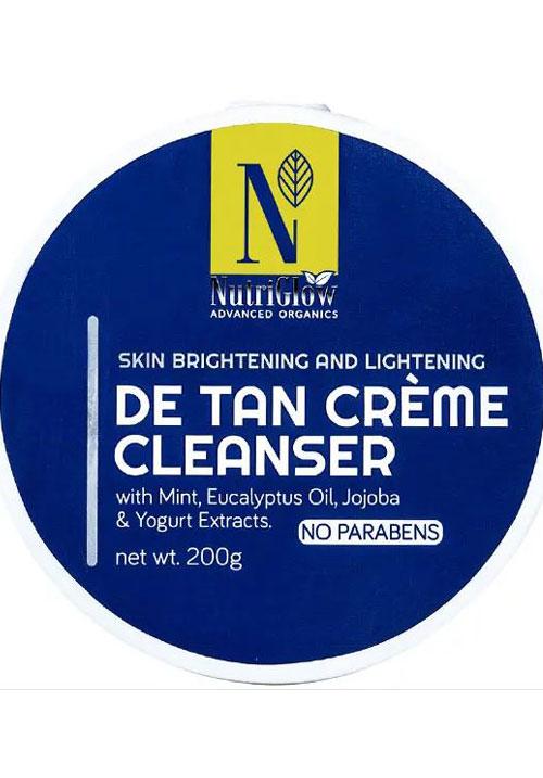 Nutriglow Detan Cream Cleanser