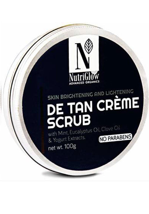 Nutriglow Detan Cream Scrub