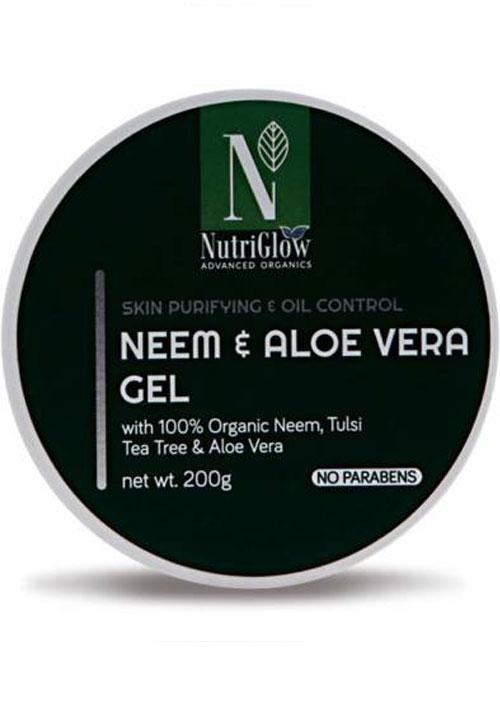 Nutriglow Neem & Aloevera Gel
