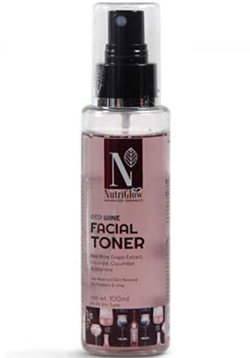 Nutriglow Red Wine Facial Toner