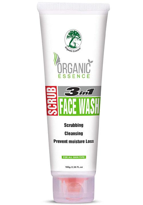 Organic Essence 3 in 1 Facewash