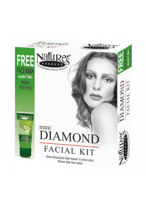 Natures Diamond Skin Polishing Facial kit