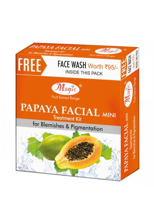 Natures Papaya Anti Blemish Facial Kit