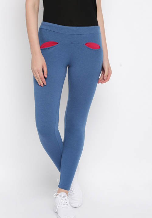 Sweet Dream Track Pant Blue Milange