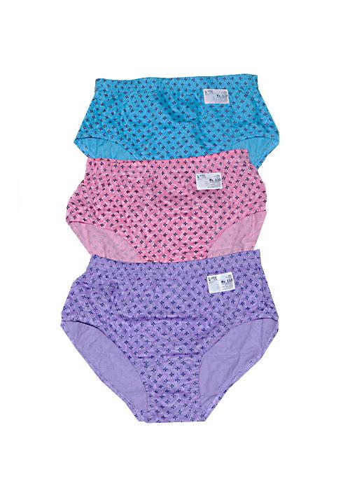 Trylo 3 Piece Cotton Panty Set