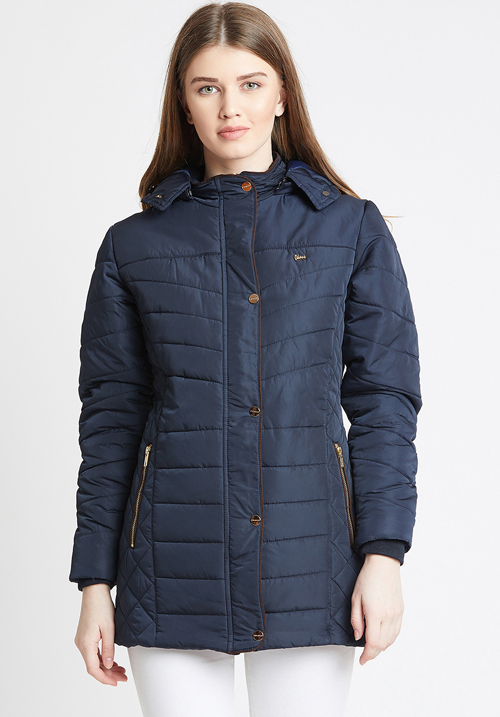 Okane Navy Padded Jacket 6736