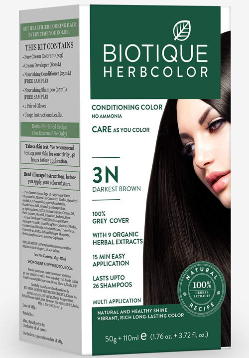 Biotique herbcolor 3N