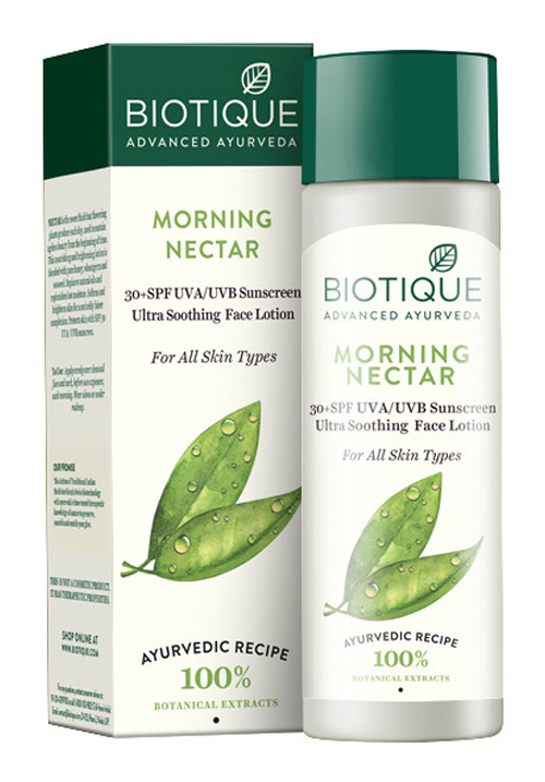 Bio Morning Nectar Sunscreen