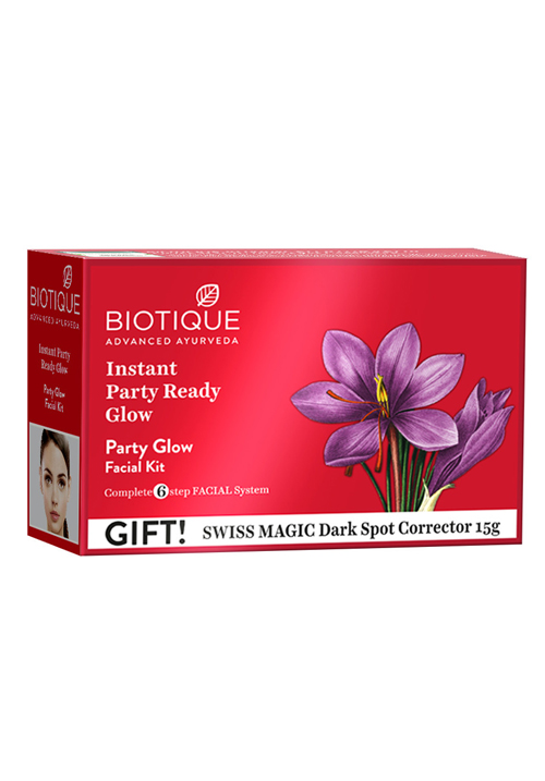 Bio Party Glow Facial Kit