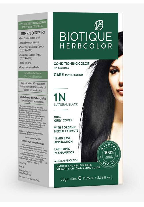 Biotique herbcolor 1N