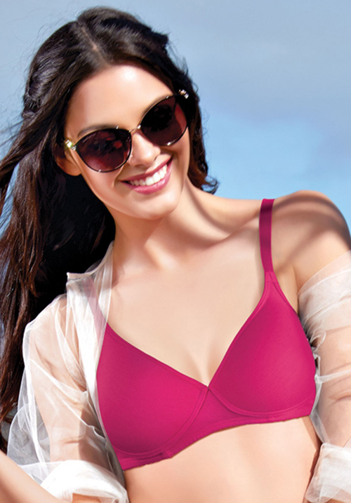Enamor A039 Cotton Bra Padded Wirefree