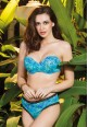 Candyskin Blue Green Lightly Padded Bra