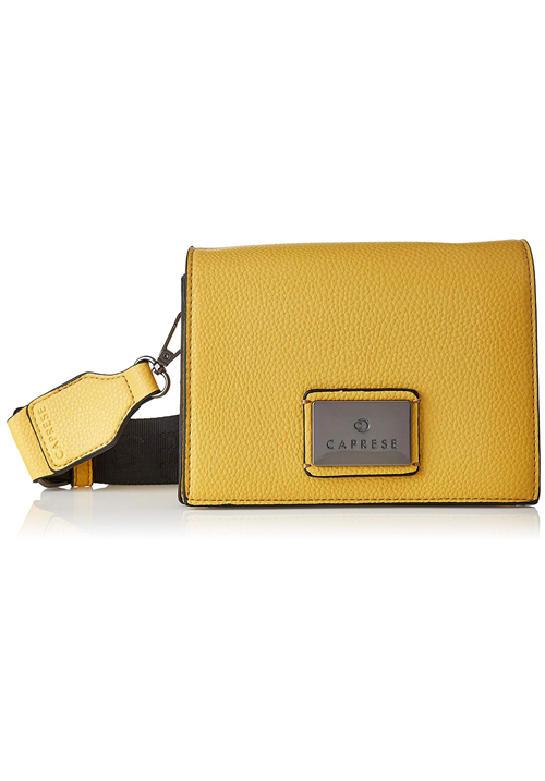 Caprese Cuba Sling Bag Bright Yellow