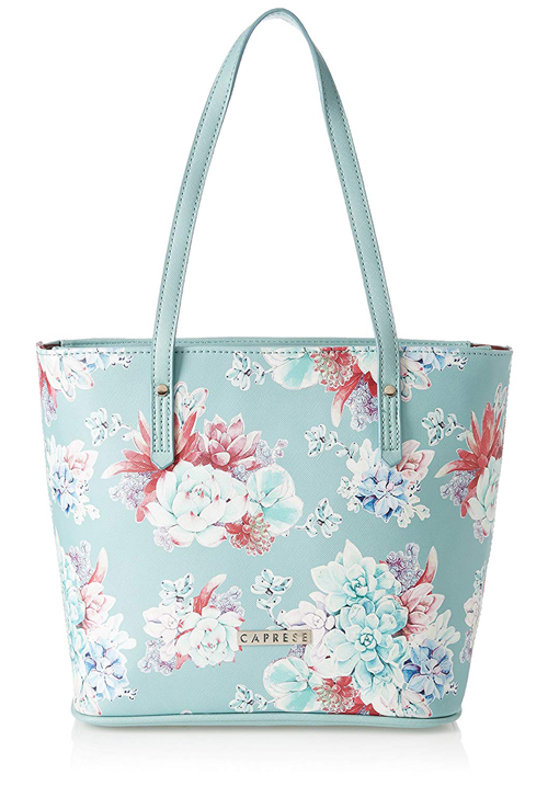 Caprese Burro Tote Bag Mint