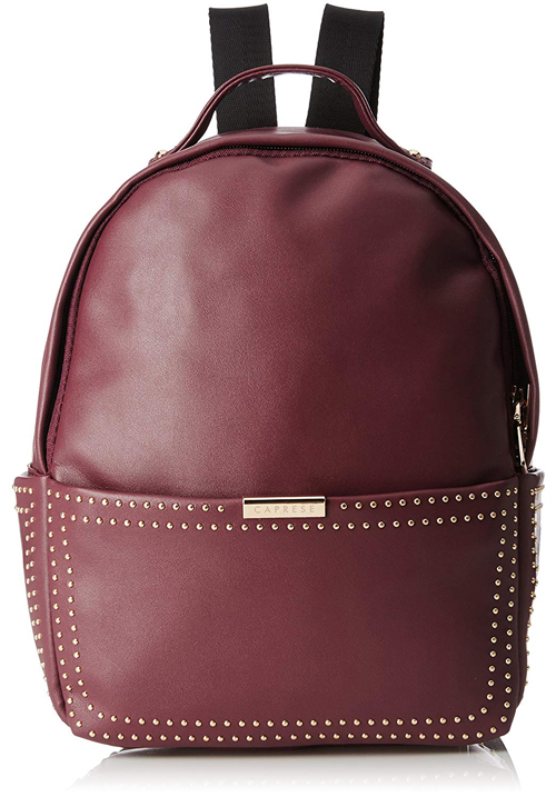 Caprese Daisy Shoulder Bag Maroon