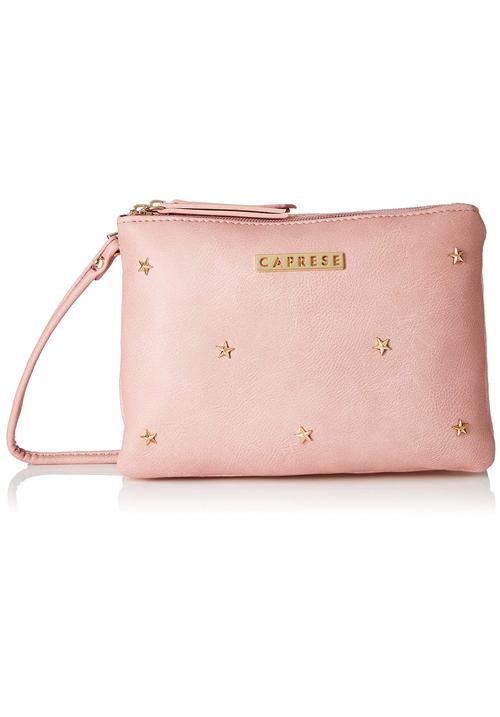 Caprese Dia Women Sling Bag Pink