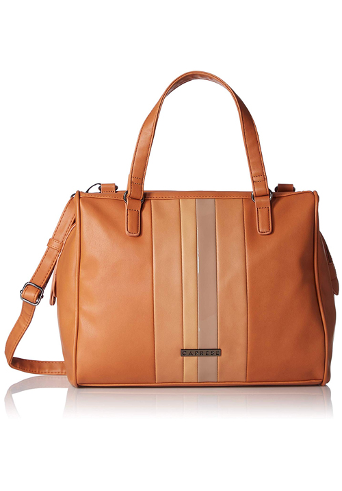 Caprese Milinda Satchel Brown