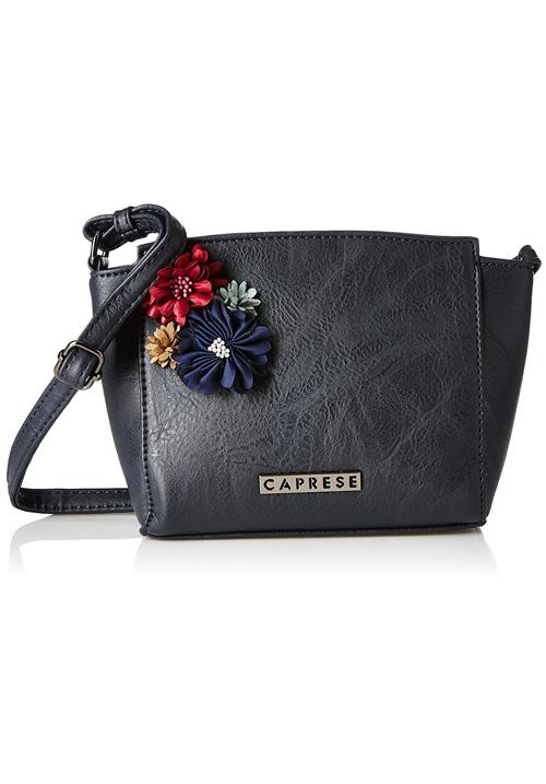 Caprese Petal Sling Bag Blue